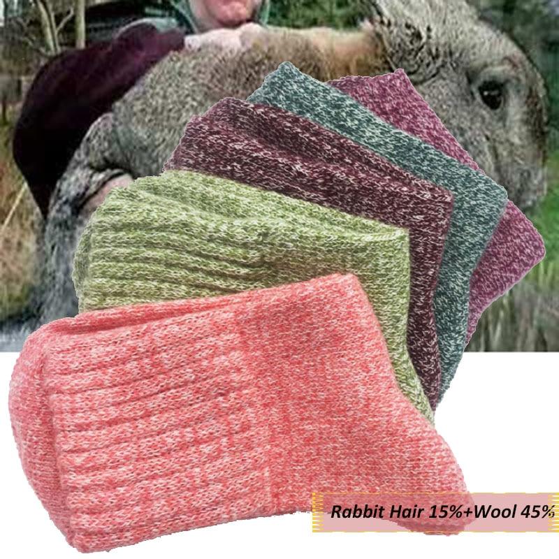 Носки женские утепленные шерстяные, мягкие хлопковые, спортивные, повседневные, теплые, на осень-зиму, 1 пара