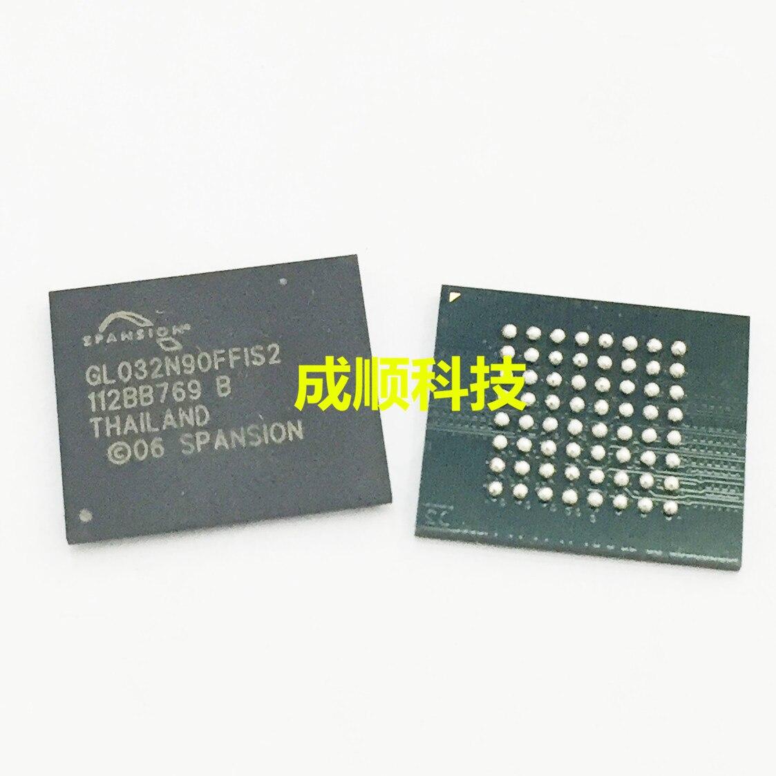 5 unids/lote S29GL032N90FFIS20 S29GL032N90FFIS2 S29GL032N90 BGA coche cpu chips