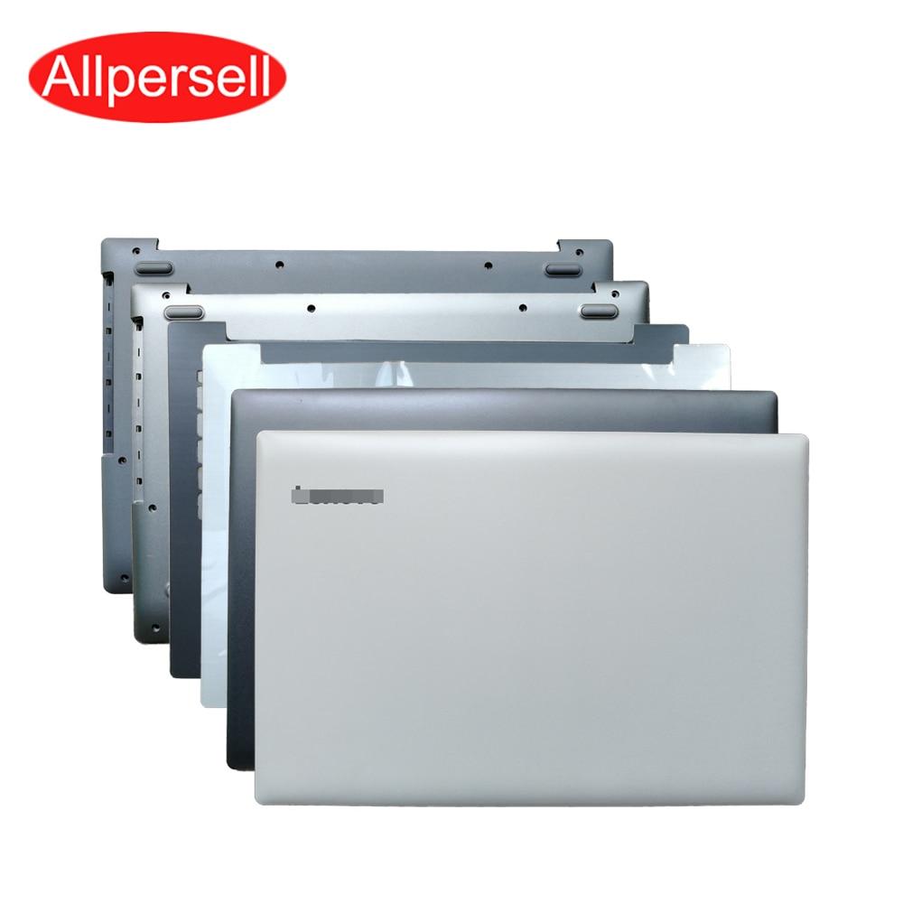 Laptop back case for Lenovo ideapad 320-15 320-15IKB 5000-15 320-15ISK 320-15ABR  top cover palm rest bottom shell border Hinge