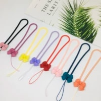 silicone cute bow popular brands mobile phone lanyard keychain documents neck strap and many other styles wholesale