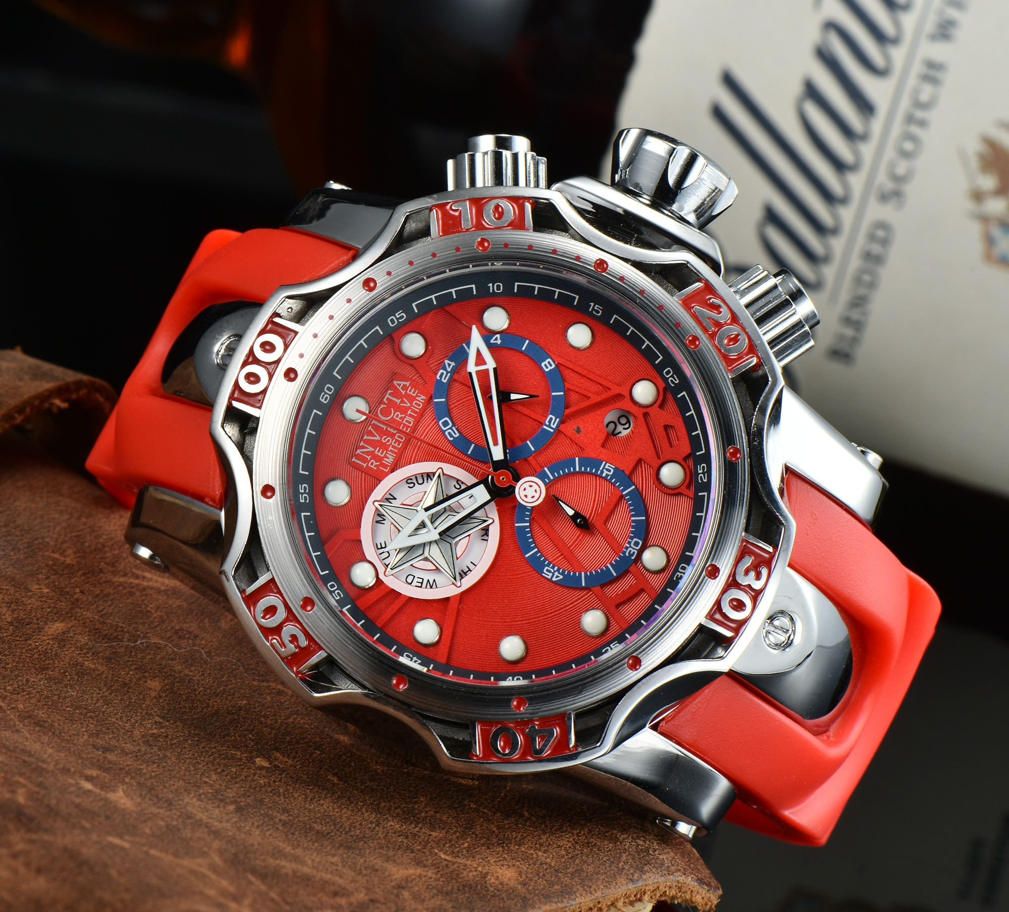 New Watch Fashion Casual Waterproof Quartz Watches for Men Calendar Wristwatch Mens Limited Edition Brand Luxury Watch with Box