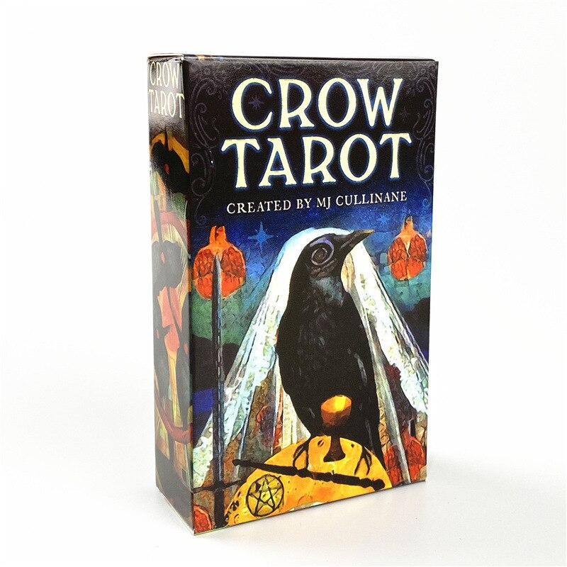 2021 Hot Sell Crow Tarot 78Cards Tarot Cards For Divination Personal Use Full English Version Tarot Cards 2021 hot sell dreaming way tarot cards 78cards tarot cards for divination personal use full english version tarot