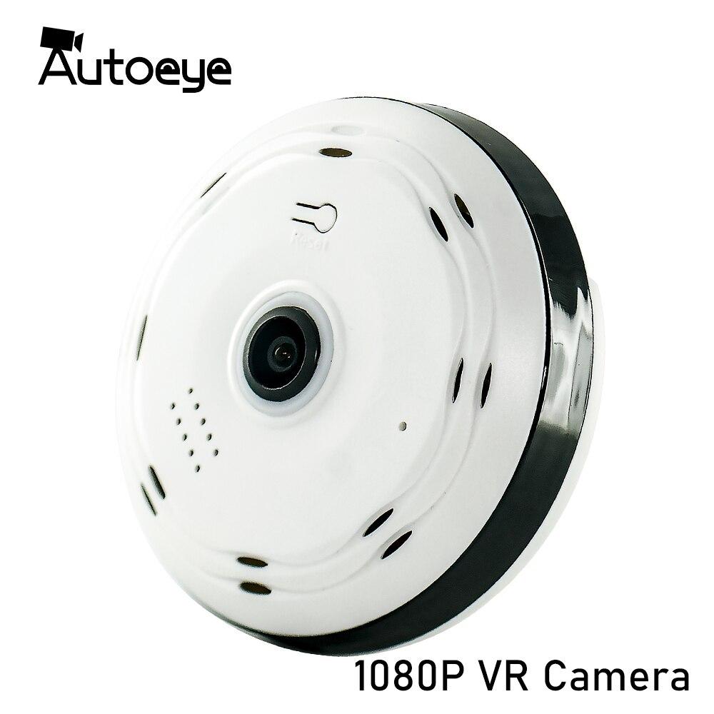 Autoeye 3D Fisheye IP Kamera 1080P 960P 2MP 1,3 MP 360 Grad Home Security WiFi VR Kamera Panorama baby Monitor CCTV Kamera