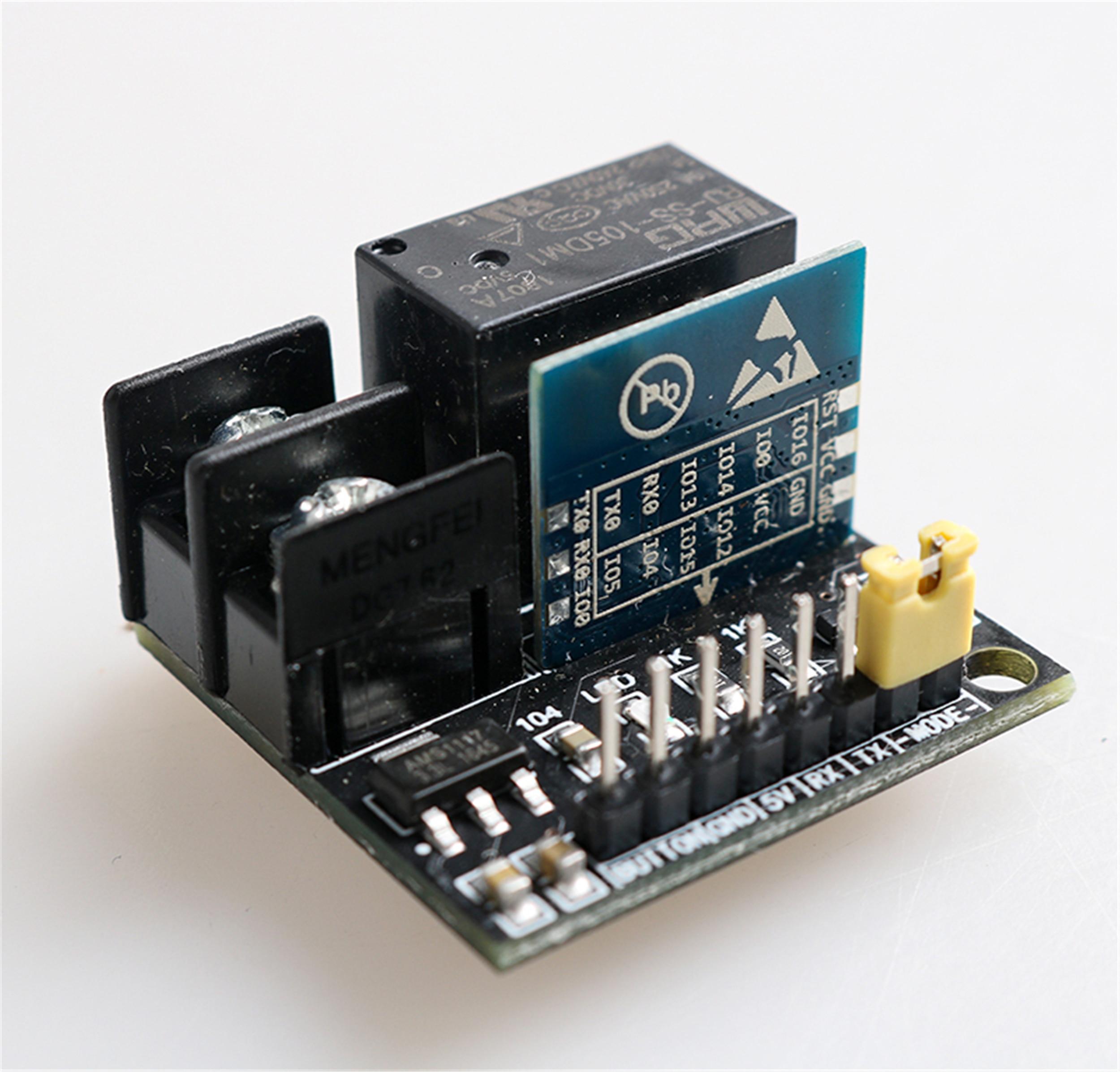 Enchufe WiFi, interruptor de relé inteligente, toma de Control remoto, 1 canal, módulo de relé DC 5V, funciona con Siri (sin Apple MFI)/Alexa/Google