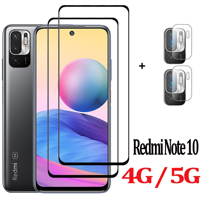 Note 10S, Cristal protector para Redmi Note 10 5G Cristal Templado Note...