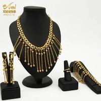 aniid african jewelry necklace sets dubai gold color for women nigerian wedding ethiopia eritrean brazilian indian bridal copper