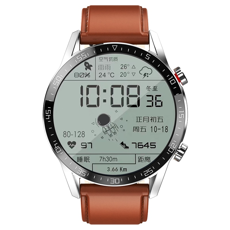 For Android Phone Iphone IOS Relogio Inteligente Smart Watch Men Android 2021 IP68 Waterproof Smartwatch Android ECG Smart Watch