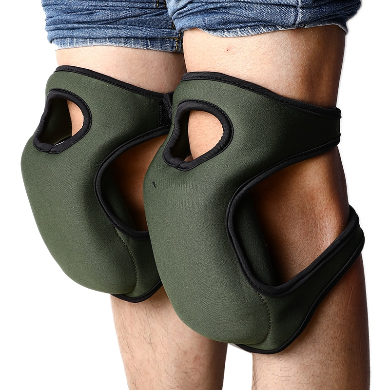 Kneepads Flexible Soft Foam Kneepads Protective Builder Knee Protector Pads Sport Work Gardening Workplace Safety Supplies