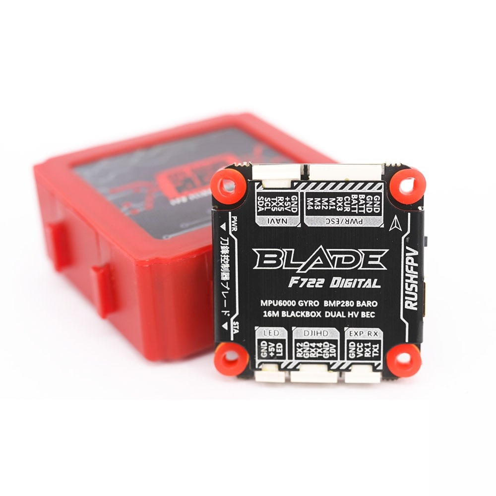 30.5mm RUSHFPV RUSH BLADE F722 Stack 50A 3-6S BLHeli_32 4in1 Brushless ESC for Analog FPV Racing Freestyle 4S 6S Drones enlarge