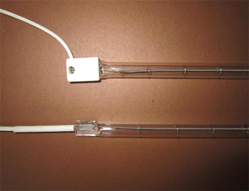 Lámpara de calor halógena encamisada de 118mm en equipo de calentamiento de alimentos