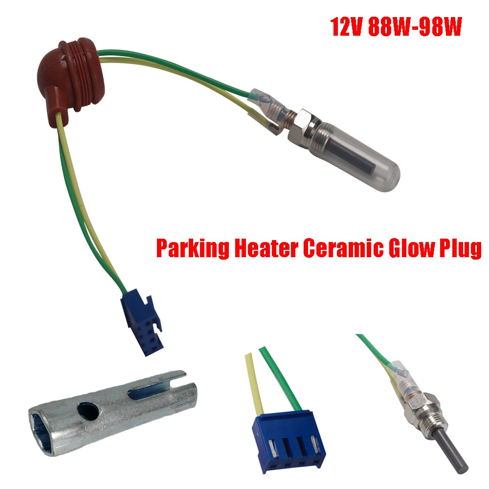 Parking Heater Ceramic Glow Plug 12V 88W-98W For Auto Car Boat Truck For Auto Diesel Parking Heater