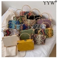 small pu leather crossbody bags for women 2021 trend shoulder bag hand bag serpentine leisure messenger bag armpit bag purse