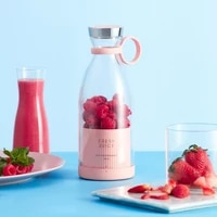 mini portable fruit juicer electric fruit mixer cup usb rechargeable fruit juice extractor household juice making cup