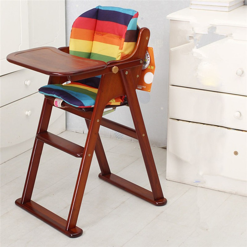 1 Uds bebé cojín de Arcoiris relleno silla de bebé transpirable cojín...