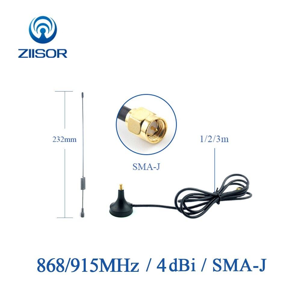 900MHz Lora 868MHz Antena magnética Omni de largo alcance 915MHz Antena SMA macho módulo inalámbrico DTU Antena 915M G900-23 aérea