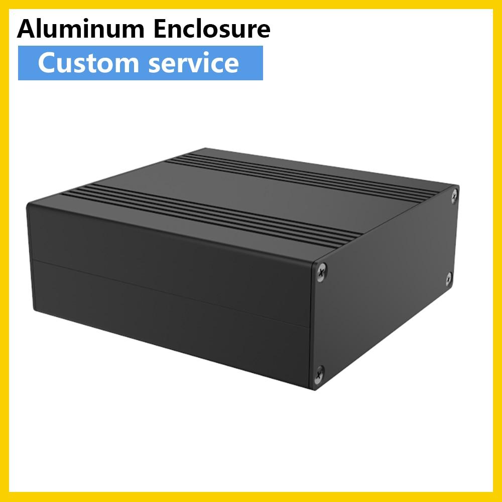 مكثف طاقة خارجي ، بطارية خارجية ، علبة ألومنيوم ، منظم جهد ، صندوق منتج H17 106*40 مللي متر