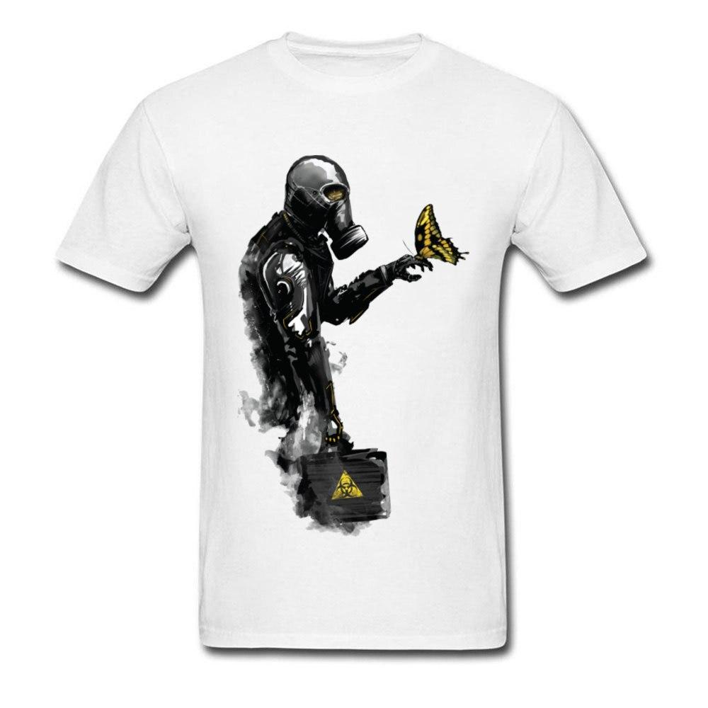 Men TShirt Toxic Future Cool T Shirt Mens Fallout Tees Cotton Round Collar Short Sleeve Family T-shirts Free Shipping Streetwear