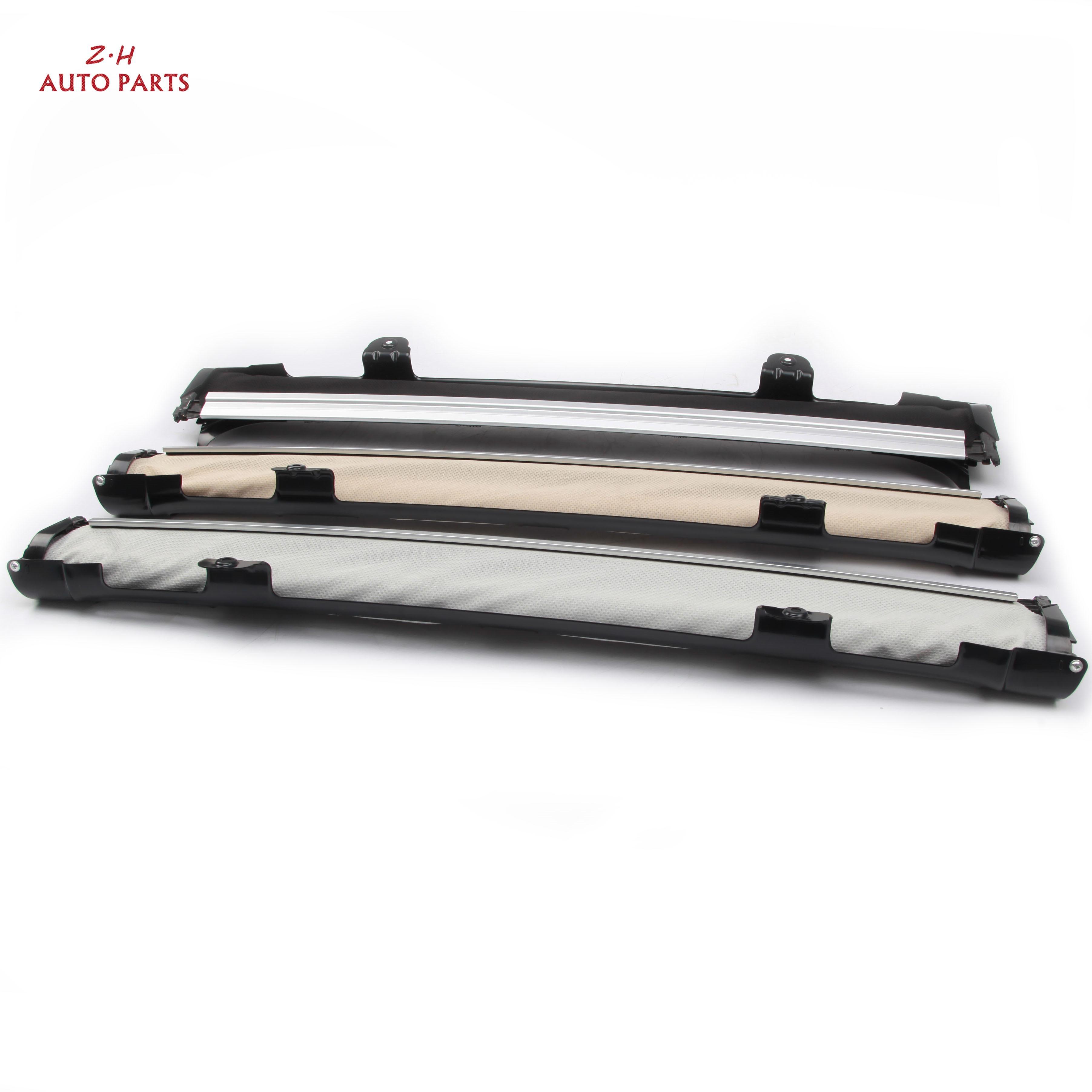Nuevo conjunto de cortinas enrollables para techo solar 1K9877307DQB9, ventanas extraíbles Beige negro gris para Audi Q5 VW Passat Tiguan Skoda Seat