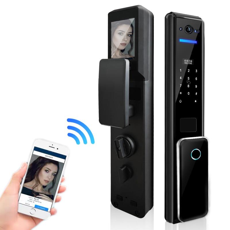 Цифровой замок с отпечатком пальца, разблокировка по отпечатку пальца через смартфон, дверной замок в квартиру