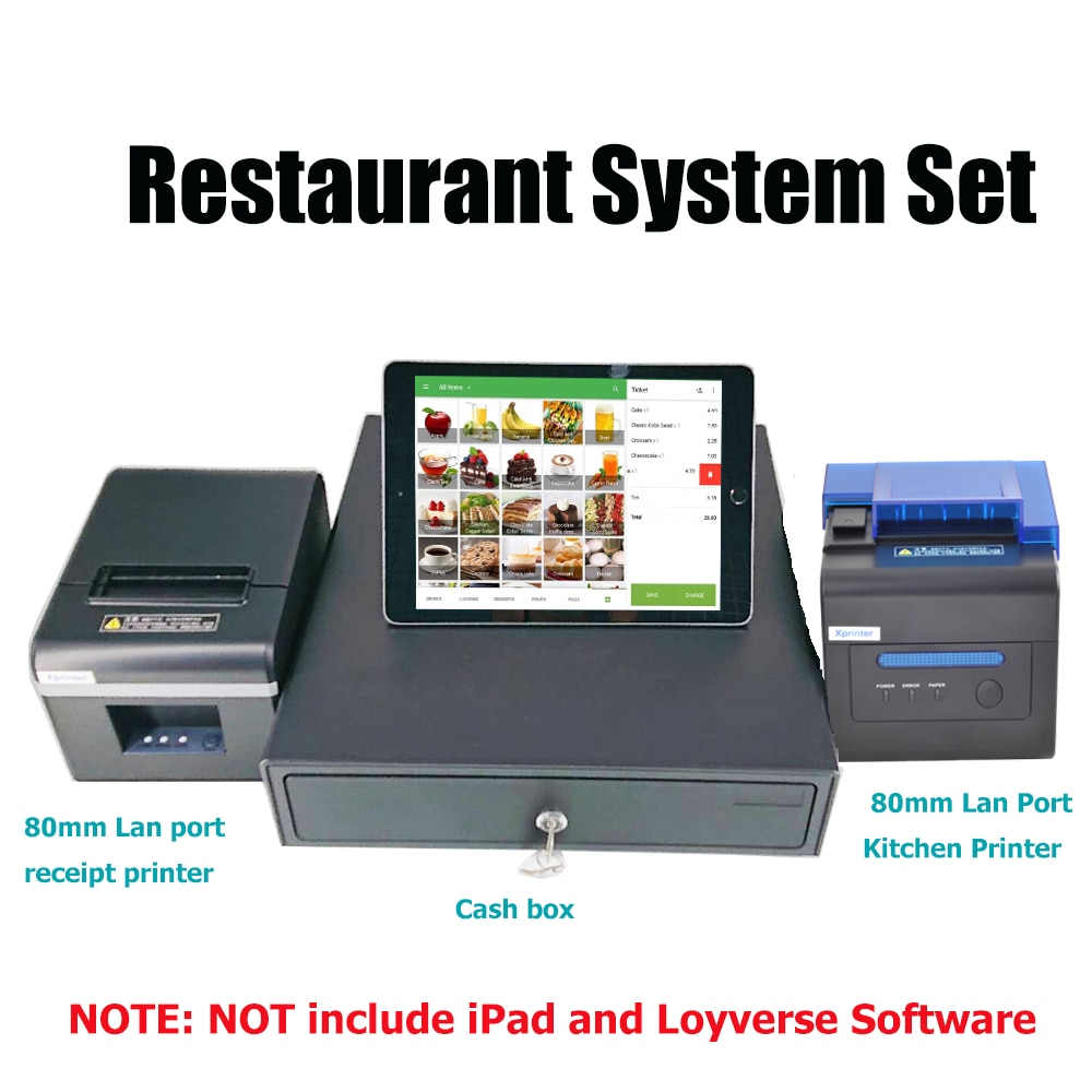 Best POS System For Your Small Business Retail Restaurant Hardware & Software Receipt Thermal Printer  Barcode Scanner  Cash Box cheap usb bluetooth serial pos58 thermal receipt bill ticket printer with cash box port support multiple languages