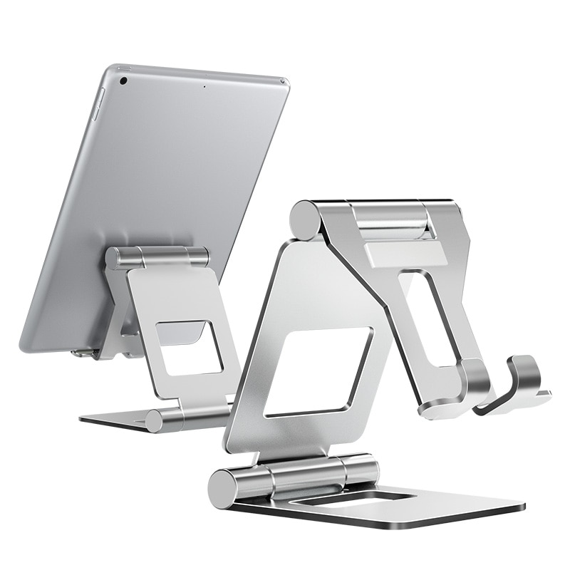 Подставка для планшета LINGCHEN, регулируемая складная подставка для планшета iPad 7,9 9,7, настольная подставка из алюминиевого сплава для iPad mini/iPad Air