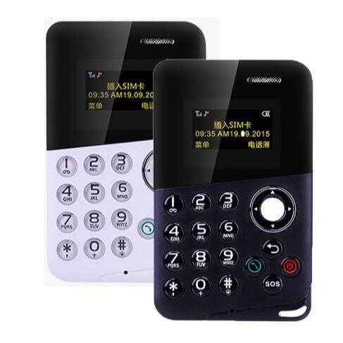Маленькие телефоны AEKU M8 Mini Card мобильный телефон с низким уровнем излучения Bluetooth сообщения цветной экран детские карманные мобильные телеф...