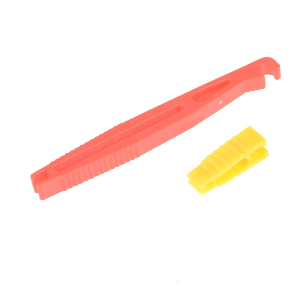 Extractor de fusibles para coche, Clips de fusibles para automóvil, herramientas de extracción, accesorios de herramientas de seguridad, coche, hoja de Van Mini, plástico, 2 unids/set
