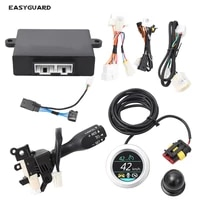 easyguard cruise control kit fit levincorollacamryyaris l car speed control plug and play cruise control switch handle