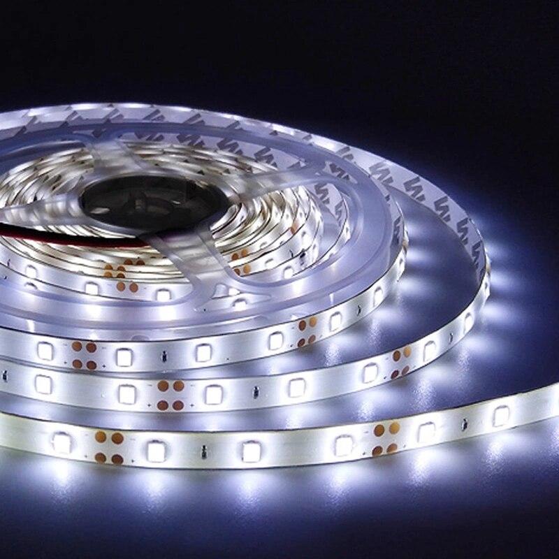 Rgb rgbw 5050 tira conduzida 5050 leds 5 300 luzes de natal conduziu luzes para o quarto tira conduzida rgb m/lote dc12v 60leds/m flexível conduziu a luz