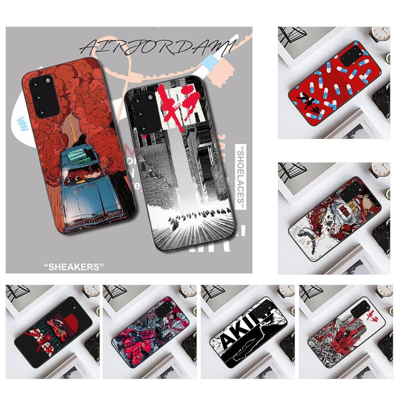 NBDRUICAI japan Akira Anime DIY Printing Phone Case cover Shell for Samsung S20 plus Ultra S6 S7 edg