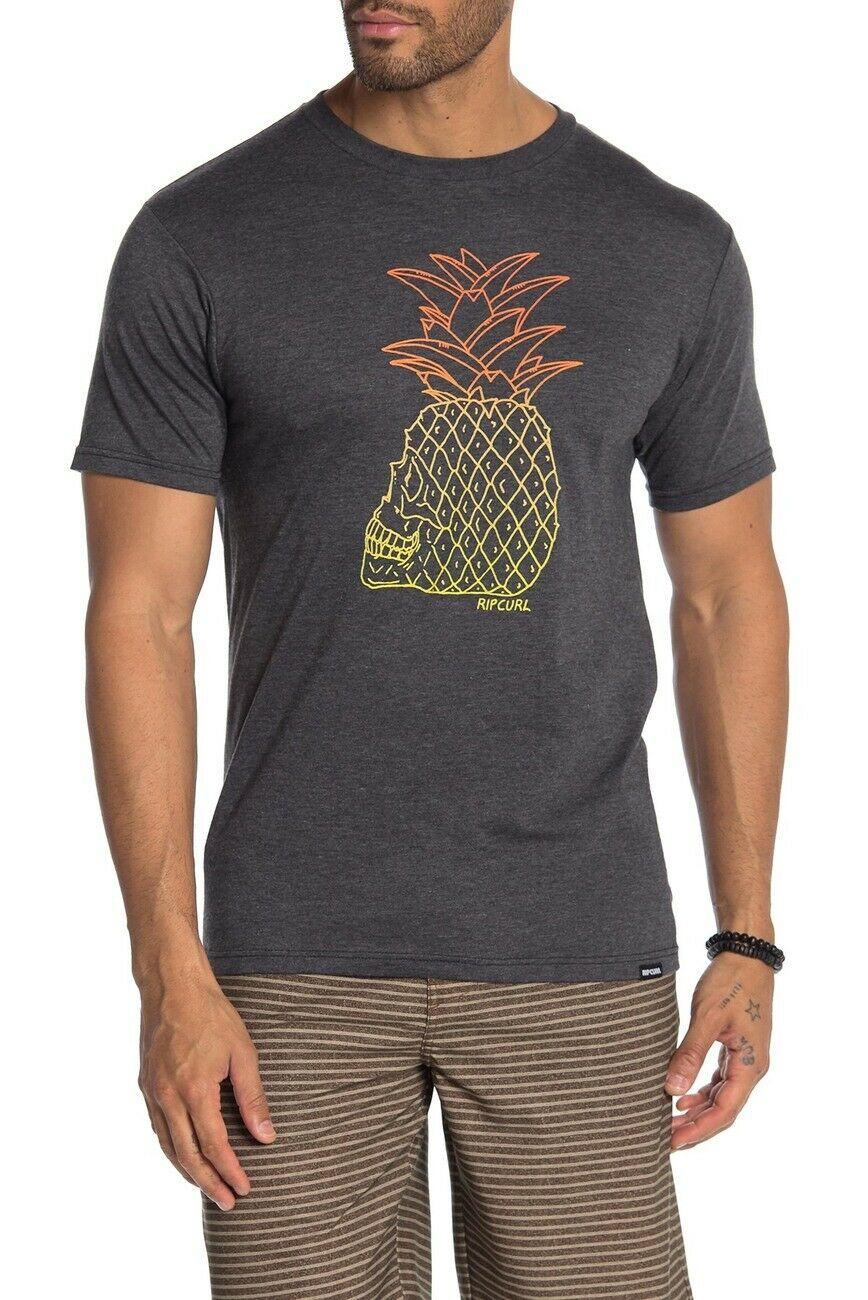 Camiseta Rip Curl para hombre, camiseta de manga corta gris, S-3XL Unisex de tamaño