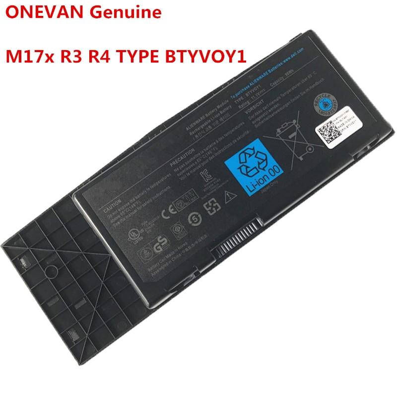 Nuevo 11,1 V 90WH BTYVOY1 batería del ordenador portátil para Dell Alienware...