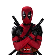 UWOWO Deadpool déguisement de Cosplay Wade Winston Wilson body de luxe ensemble complet en cuir tenues Halloween Cosplay