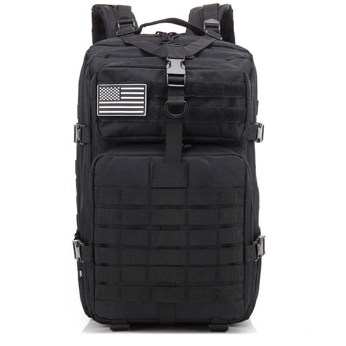 Mochila de ejército de camuflaje de 50L para hombre... bolsas Tactics militares...