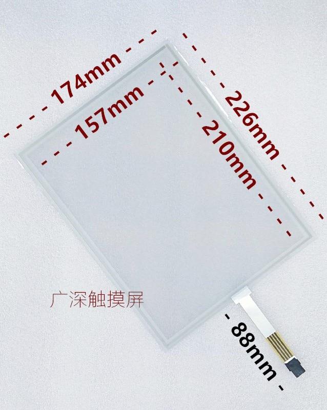 10.4 بوصة 4 أسلاك مقاوم شاشة تعمل باللمس شاشة خارجية القياسية الصناعية الكمبيوتر الصناعي 10 بوصة تعمل باللمس