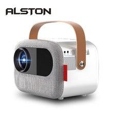 Projecteur LCD ALSTON M16 1080P 4500 Lumens projecteur cinéma hdmi VGA AV USB