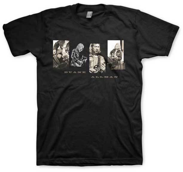 DUANE ALLMAN-reevolución camiseta S-M-L-XL-2XL nuevo oficial Hi Fidelity Merch