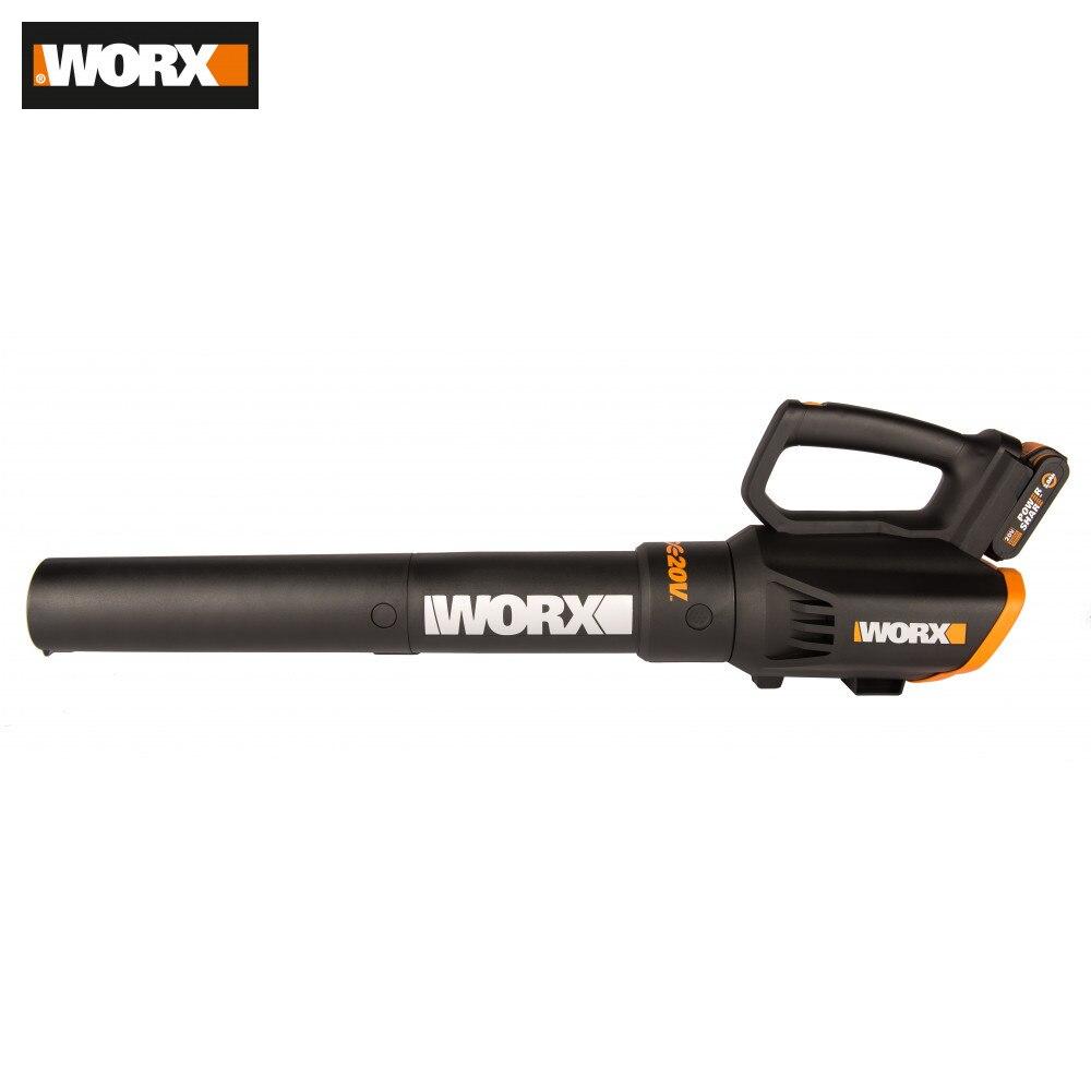 Sopladores de hojas y aspiradoras WORX WG547E herramientas de jardín aspiradora compresor en red