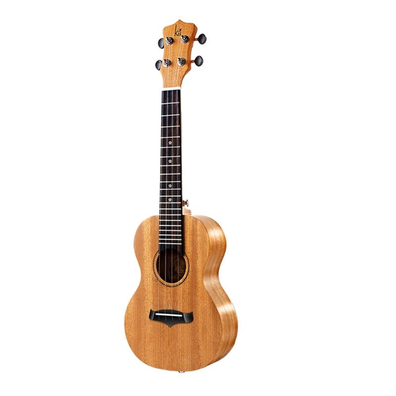Baritone Ukulele Solid Mahogany Children Body Set Blue Small Guitar Beginner Accessories Wood Bass Perform Guitarra Music ZZ50YL enlarge