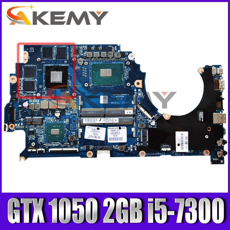 ل OMEN ل HP 15-ce001TX TPN-Q194 اللوحة المحمول 929484-601 GTX 1050 2GB i5-7300 G3AA DAG3AAMBAG0 100% اختبارها بالكامل