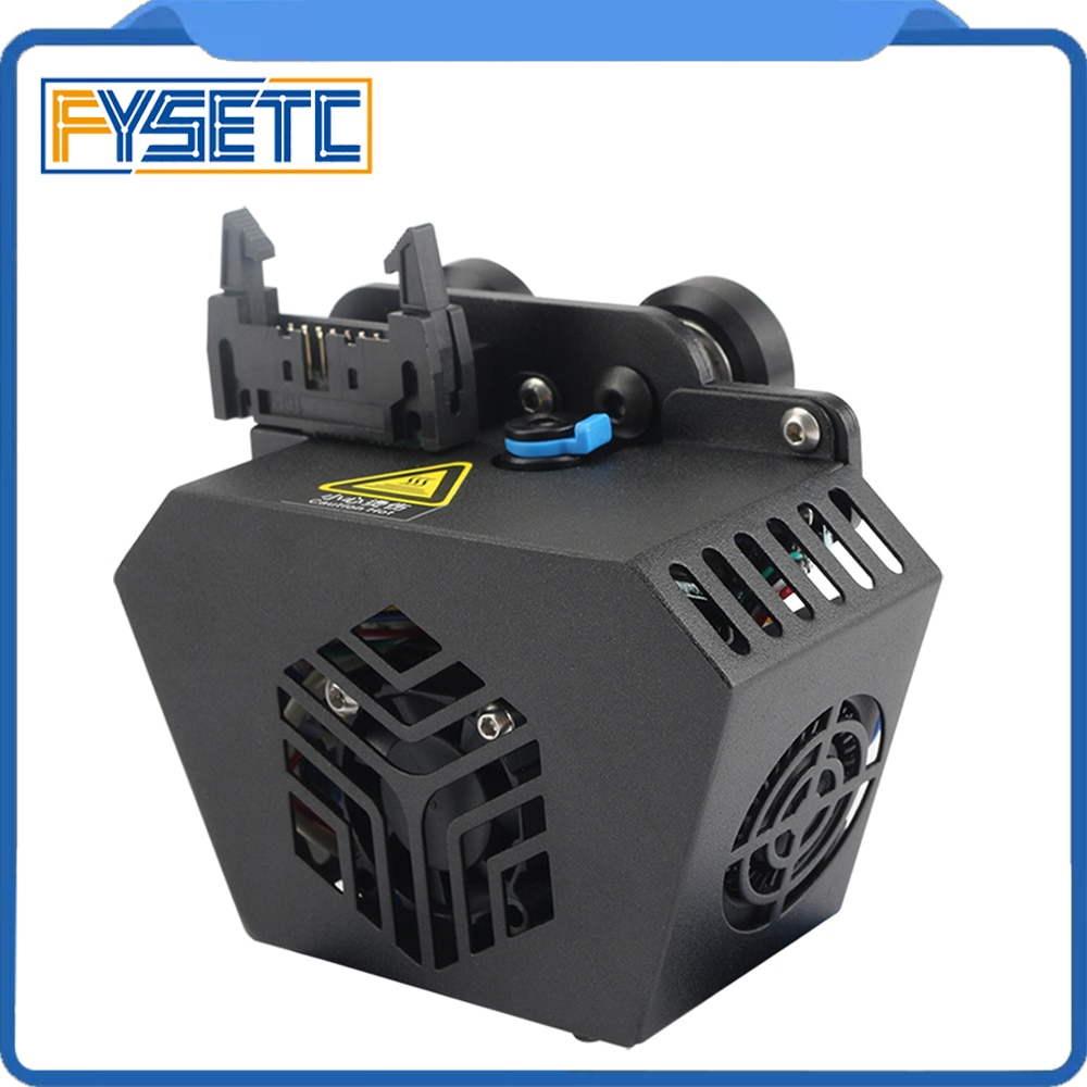 FYSETC مجموعة كاملة CR-6 SE 0.4 مللي متر فوهة Hotend ثلاثية الأبعاد الطباعة رئيس الطارد عدة مع لوحة عجلة ل Creality ثلاثية الأبعاد أجزاء الطابعة