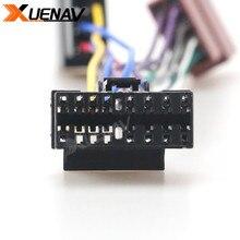 ISO 15-109 uprząż samochód standardowy AUDIO ISO żeński przewód łączący złącze do radia Sony CD; JVC 16-pin (30x12mm)
