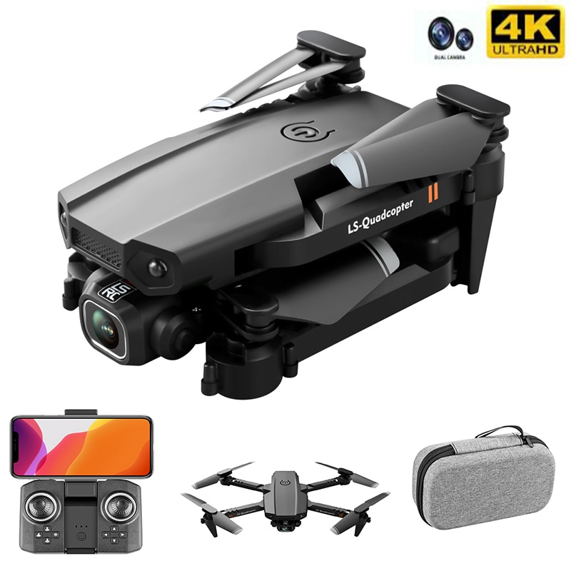 New Drone 4k Double Camera HD XT6 WIFI FPV Drone Air Pressure Fixed Height four-axis Aircraft RC Helicopter With Camera