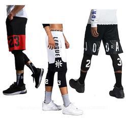 Профессиональные спортивные мужские шорты для занятия баскетболом, спортивные быстросохнущие тренировочные костюмы для спортзала, шорты ...