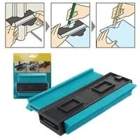 plastic contour gauge shape duplicator diy tiling laminate wood marking tool multi function profile gauge measure ruler