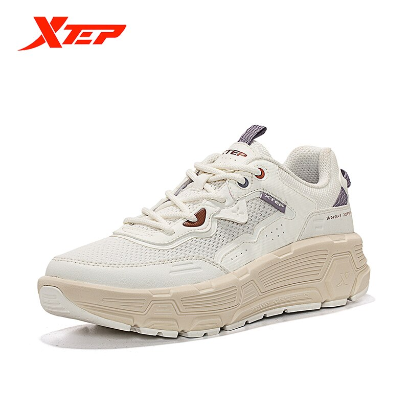 Xtep 2021 Women Fashion Summer Leisure Shoes Breathable Lightweight Thick Bottom Casual Outdoor 879218320566