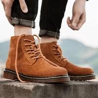 48 men leather boots fashion grey chelsea boots winter warm desert boots men denim boots fur suden ankle boots summer male shoes