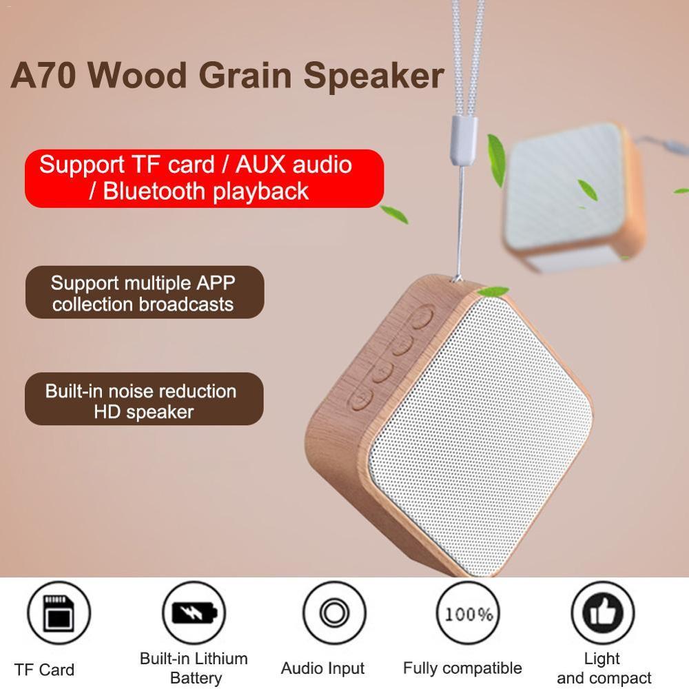 Altavoz portátil Bluetooth altavoz mini caja inalámbrica al Aire Libre FM Radio TF tarjeta AUX altavoz música envolvente altavoz estéreo