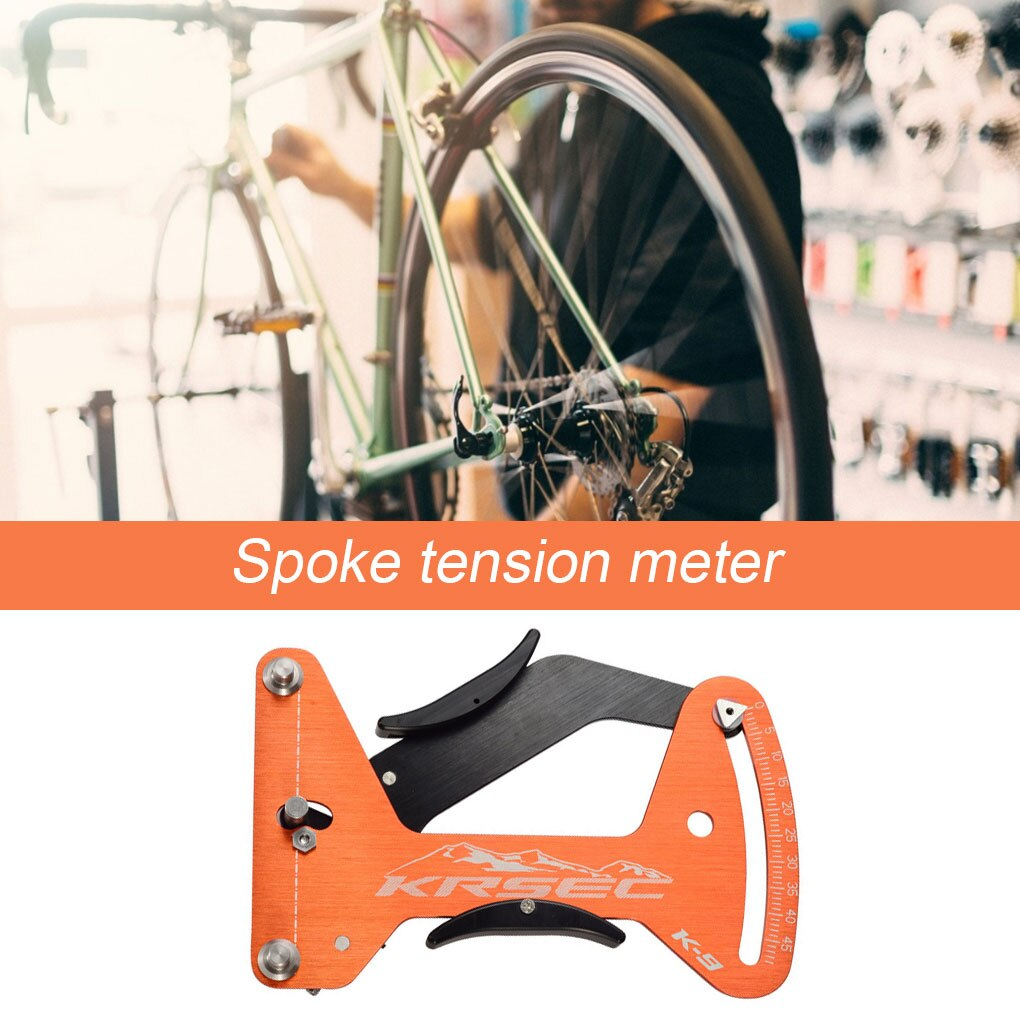 Bicycle Spoke Tension Meter Wheel Bike Spokes Checker Tools Portable Bike Reliable Indicator Meter Tensiometer Spoke Repair Tool