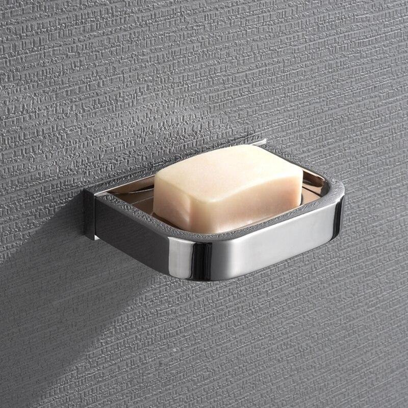 طبق صابون حمام من الفولاذ المقاوم للصدأ 304 مع ضوء المرآة ، صندوق معدني ، رف صابون المرحاض ، قلادة الأجهزة